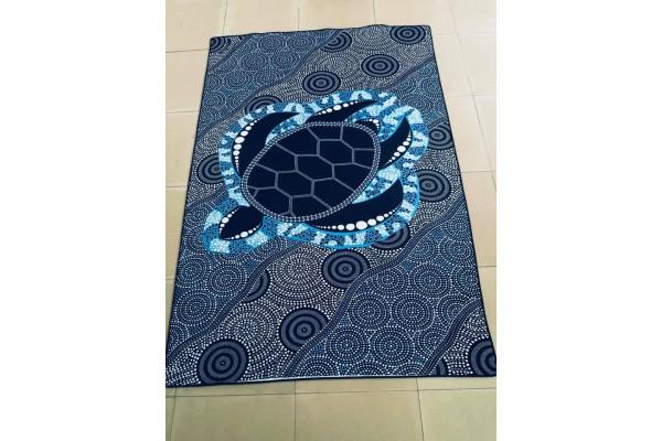 Turtles Neoprene Indoor / Outdoor Mat  FREE DELIVERY