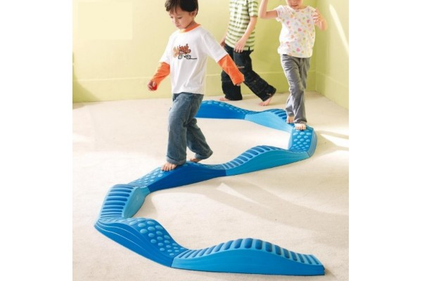 LAST ONE Wavy Tactile Path (8pc)