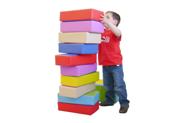 12 pc Soft Play Blocks
